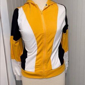 PINK Victoria's Secret Yellow Zip Hoodie
